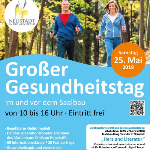 Gesundheits-Messe in Neustadt am 25.5.2019